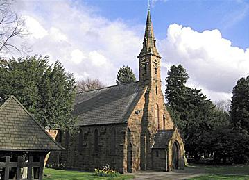 yardley wood church