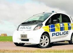 police electric car fleet