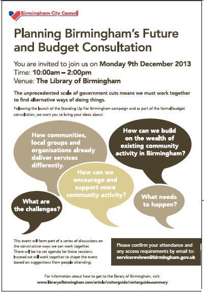 OB future & budget consultation