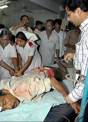 nandigram injured