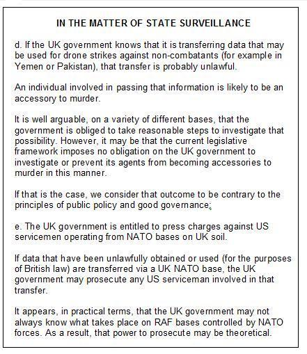 drones legal opinon extract