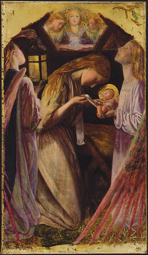 The Nativity Arthur Hughes 1858