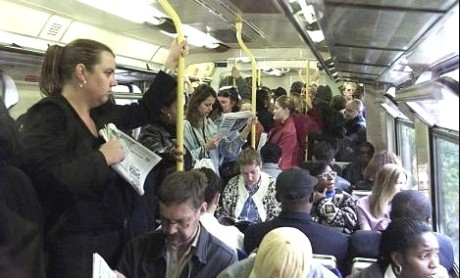 overcrowding on trains