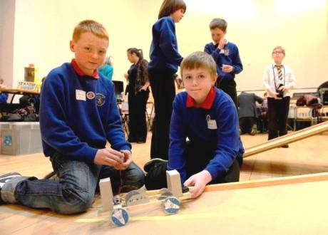 ayrshire pupils engineering