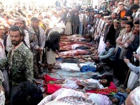 drone strike yemen wedding