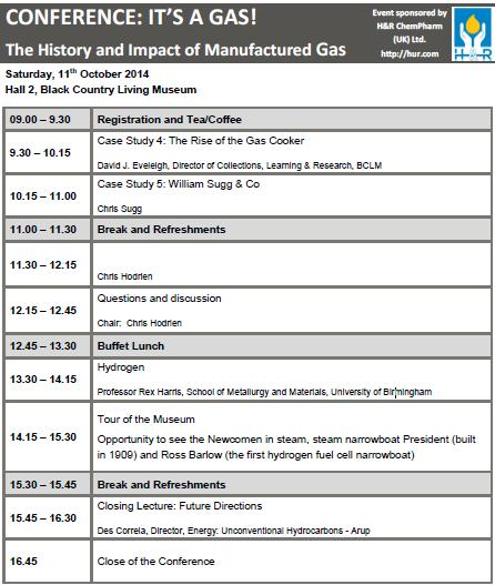 rex gas conference