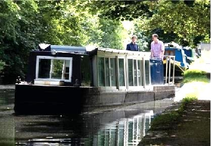 Ross Barlow canal boat3