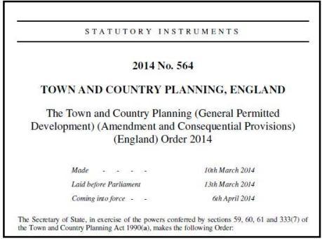 planning order 2014 header
