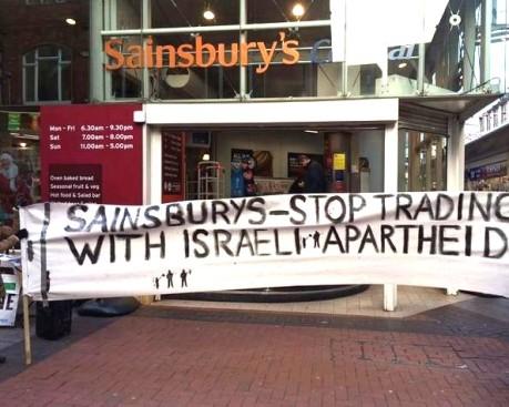 Palestine demo sains