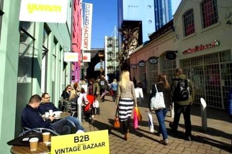 digbeth street scene