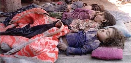 children drone killed