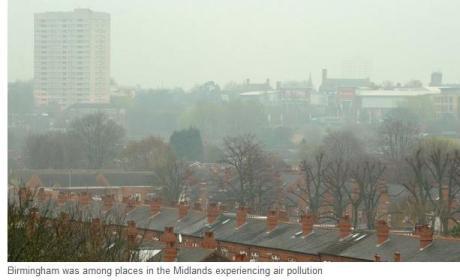 bham air pollution
