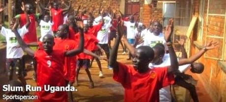 slum run uganda