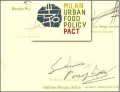 milan food policy pact gathering
