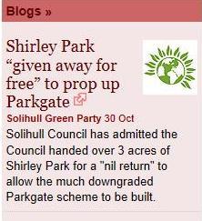 shirley park logo